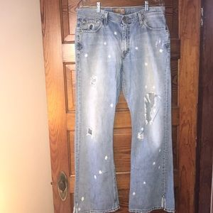 BKE Distressed Jeans 34